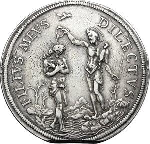 reverse: Firenze.  Cosimo III de  Medici (1670-1723). Piastra 1676