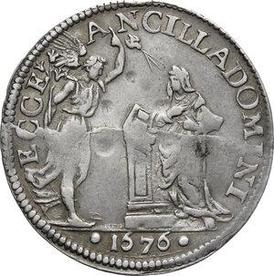 reverse: Firenze.  Cosimo III de  Medici (1670-1723). Giulio 1676