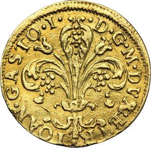 obverse: Firenze.  Gian Gastone de  Medici (1723-1737). Fiorino 1725