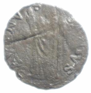 reverse: Zecche Italiane. Castro. Pier Luigi Farnese. 1545-1547. Quattrino.Peso 0,70 gr. MI. qBB