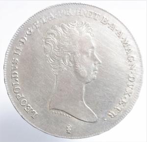 obverse: Zecche Italiane. Firenze. Leopoldo II (1824-1859). Francescone 1834. Gig.16. NC. AG. Peso 27,35 gr. BB\BB+.