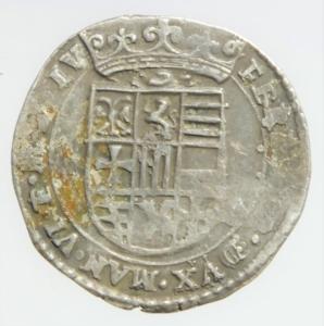 obverse: Zecche Italiane. Mantova .Ferdinando Gonzaga 1612-1626 7 Soldi Peso 1,95 gr Diametro 19 mm .BB\qBB. Nc
