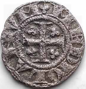 reverse: Zecche Italiane - Milano. I Repubblica 1250-1310. Grosso da Sei denari. gr 2,72. mm 21,16. Poroso