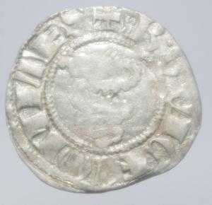 obverse: Zecche Italiane.Milano. Bernab e Galeazzo Visconti (1354-1378). Sesino. D\ Croce patente R\Biscione.Cr. 5. AG. g. 1.00.BB+