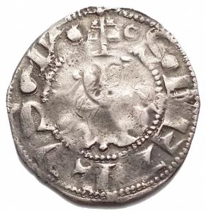 obverse: Zecche Italiane -Roma.Anonime (XIV sec.).Bolognino romano.M. 1.AG.g 1,18.MB-BB