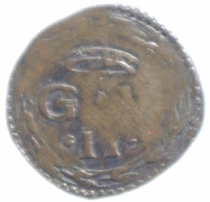 obverse: Zecche Italiane.Urbino. Guidobaldo II della Rovere (1538-1574). Quattrino. Cav. 135. AE. mm. 17.50 Bel BB.