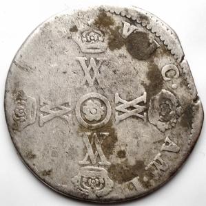 obverse: Casa Savoia - Vittorio Amedeo II Duca 1680-1713. 15 Soldi Ag. gr 6,93. mm 27,7. MB-BB