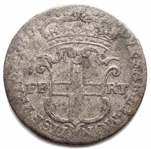 reverse: Casa Savoia -Carlo Emanuele III (1730-1773).5 soldi (III tipo) 1746, Torino.MIR 936e.MI.gr 3,97.mm 24,43. MB+-qBB.NC.Patina