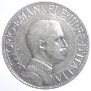 obverse: Casa Savoia. Vittorio Emanuele III. 2 lire 1912. Gig 99. qBB.