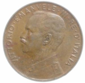reverse: Casa Savoia. Vittorio Emanuele III. 2 Centesimi 1917. Peso 2,05 gr. Diametro 20,00mm.SPL