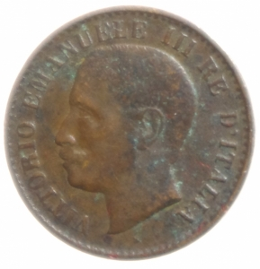 obverse: Casa Savoia. Vittorio Emanuele III. 1 Centesimo 1903 Valore.BB.