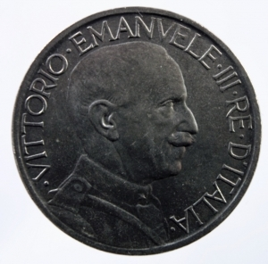 reverse: Casa Savoia. Vittorio Emanuele III. 1900-1943. 2 lire 1924. Ni. Pag. 742. SPL.