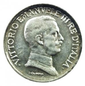 reverse: Casa Savoia. Vittorio Emanuele III. 1900-1946. Lira 1917. AG. Pag. 775. Mont. 202. FDC.