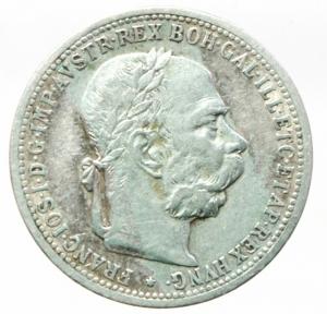obverse: Monete Estere.Austria.Francesco Giuseppe.1 Corona 1901.Ag.Peso4,80 gr.BB+