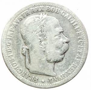 obverse: Monete Estere.Austria.Francesco Giuseppe.1 Corona 1896.Ag.Peso4,80 gr.MB+