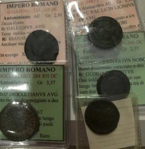 obverse: Lott.Impero Romano.Lotto di 5 bronzetti classificati,mediamente qBB.___