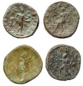 reverse: Lotti - Impero Romano.Lotto di 4 Sesterzi in Ae