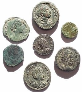 obverse: Lotti - Mondo Romano. Insieme di 7 pezzi in Ae