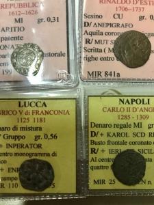 obverse: Lotti.Zecche Italiane.Lotto di 4 monete regionali classificate presenti Modena, Lucca ,Arezzo,Napoli.BB.___
