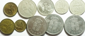 obverse: Lotti.Monete Estere.Lotto di 10 monete, mediamente SPL.