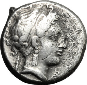 obverse: Central and Southern Campania, Neapolis. AR Didrachm, 320-300 BC
