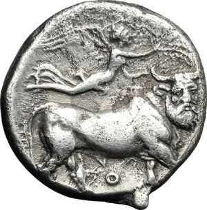 reverse: Central and Southern Campania, Neapolis. AR Didrachm, 320-300 BC