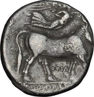 reverse: Central and Southern Campania, Neapolis. AR Didrachm, circa 300 BC