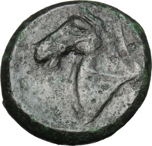 reverse: AE Half unit, after 276 BC
