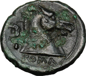 reverse: Anonymous.. AE Litra, 241-235 BC