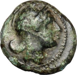 obverse: Anonymous. AE Half Litra, c. 234-231 BC