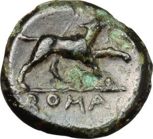 reverse: Anonymous. AE Half Litra, c. 234-231 BC