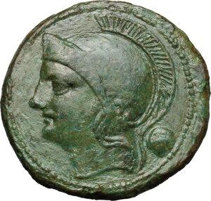 obverse: Semilibral series.. AE Uncia, 217-215 BC