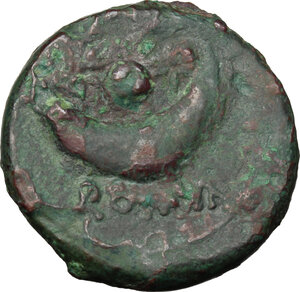 reverse: Anonymous. AE Uncia, 217-215 BC