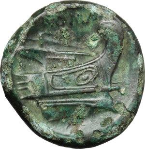 reverse: Post-semilibral series.. AE Semuncia, c. 215-212 BC