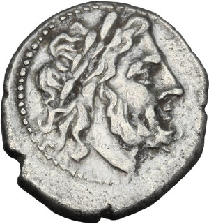 obverse: Anonymous. AR Victoriatus, after 211 BC