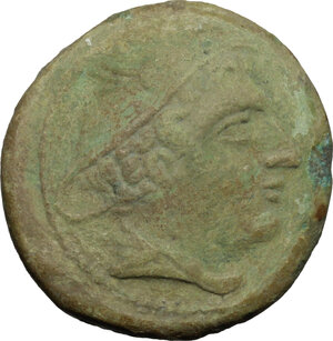 obverse: Sextantal series.. AE Sextans, after 211 BC