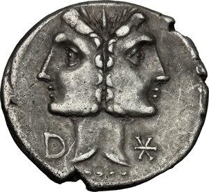 obverse: C. Fonteius.. AR Denarius, 114-113 BC