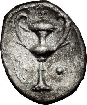 obverse: AR Obol, 280-228 BC