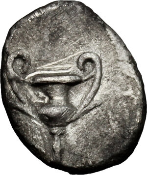 reverse: AR Obol, 280-228 BC