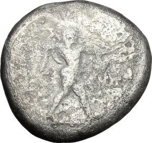obverse: Northern Lucania, Paestum. AR Stater, 470-445 BC