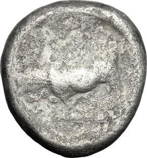 reverse: Northern Lucania, Paestum. AR Stater, 470-445 BC