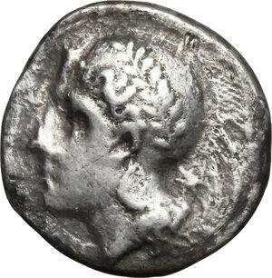 obverse: Northern Lucania, Velia. AR Nomos, circa 334-300 BC