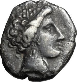 obverse: Gaul, Massalia. AR Drachm, 2nd half of 3rd century BC