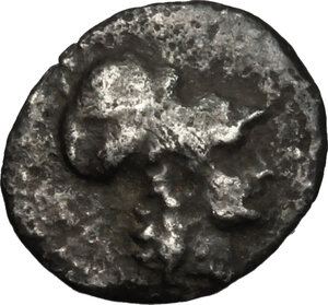 obverse: Southern Lucania, Metapontum. AR Diobol, circa 325-275 BC