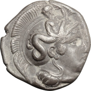 obverse: Southern Lucania, Thurium. AR Stater, 400-350 BC