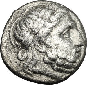obverse: Celtic, Eastern Europe. AR Tetradrachm, early Celtic imitation of Philip II of Macedon, 3rd-2nd century BC