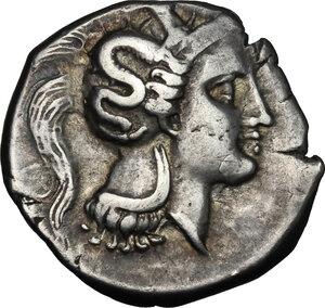 obverse: Southern Lucania, Thurium. AR Nomos, c. 350-300 BC