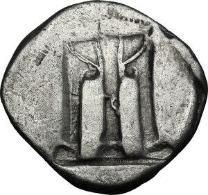 reverse: Bruttium, Kroton. AR Stater, 480-430 BC