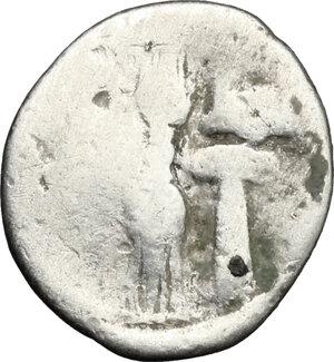 reverse: Bruttium, Kroton. AR Triobol, c. 400-350 BC