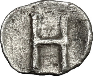 reverse: Bruttium, Kroton. AR Hemiobol, 460-440 BC